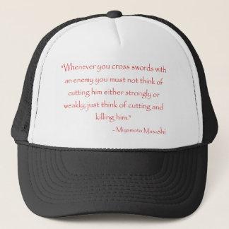 Miyamoto Musashi Quote Trucker Hat