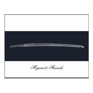 Miyamoto Musashi's Sword Postcards