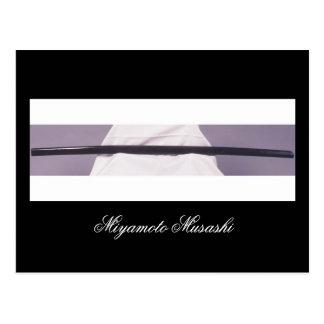Miyamoto Musashi's Wooden Sword Postcard