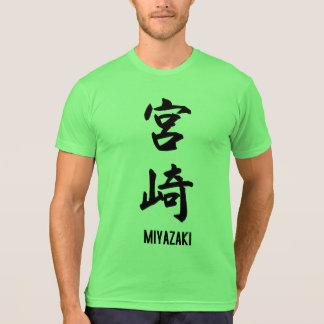 Miyazaki en kanji polera
