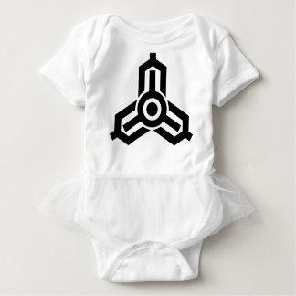 Miyazaki Symbol Baby Bodysuit