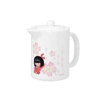 Miyono Sakura Teapot (small)