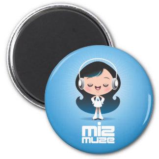 Miz Muze Magnet