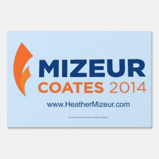 Mizeur Coates 2014 Yard Sign