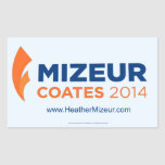 Mizeur Coates Sticker