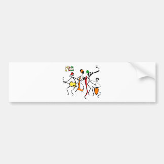 mizik a non wcmf products bumper sticker