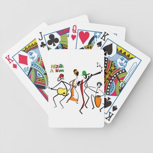 mizik productos no de un wcmf barajas de cartas