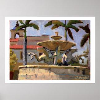 Mizner Memorial Fountain poster