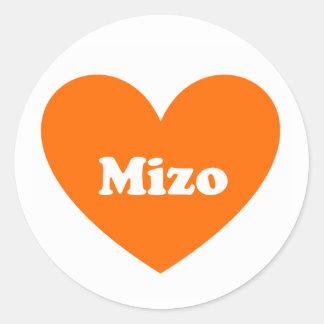 mizo classic round sticker