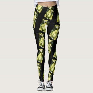 MIZOU MIZA ALIEN MONSTER CARTOON Leggings