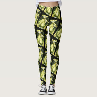 MIZOU MIZA ALIEN MONSTER CARTOON Leggings 2