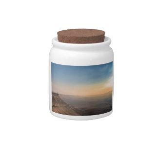 Mizpe Ramon crater, Israel Candy Jars