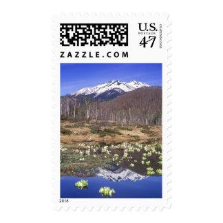 Mizubasho & Mt. Norikura, Ichinose, Nagano, Stamp
