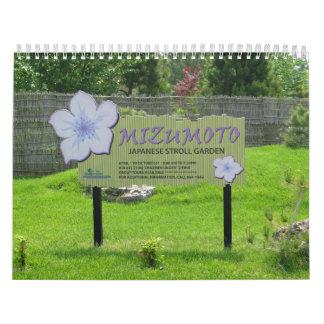 Mizumoto Japanese Stroll Garden Calendar