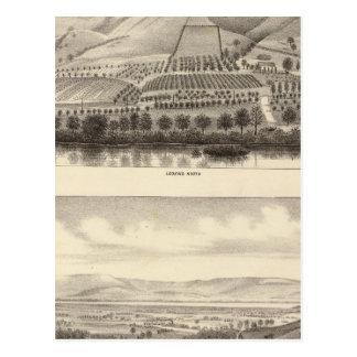 Mizzen Rancho superior Postales