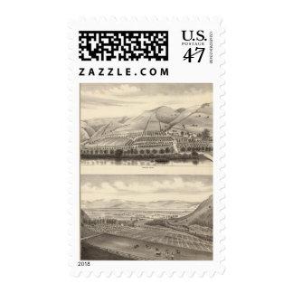 Mizzen Rancho superior Sellos Postales