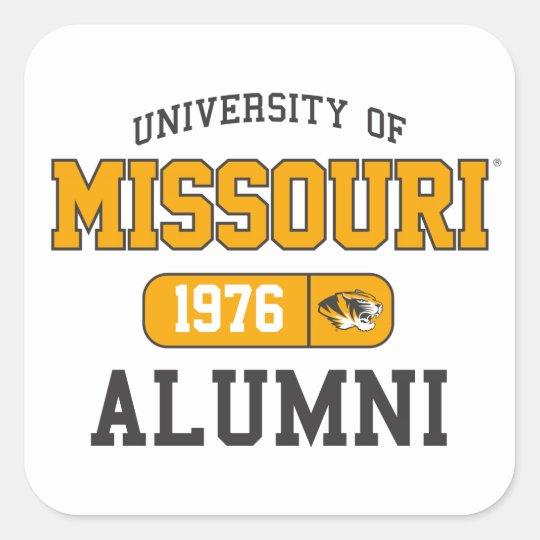 Mizzou Alumni Pride Square Sticker