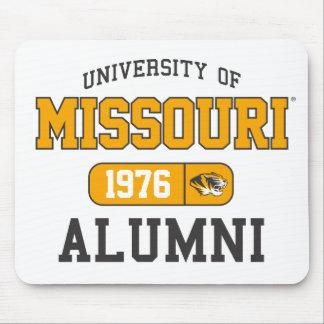 Mizzou Black and Yellow Alumni Pride Mouse Pad