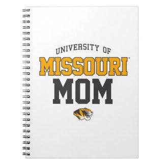 Mizzou Black Yellow Family Pride Spiral Notebooks