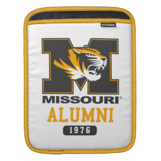 Mizzou M for Alumni Pride Sleeves For iPads