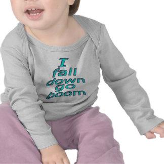 MJ12club*-I fall down go boom-Baby Pix-Googlem Tshirts