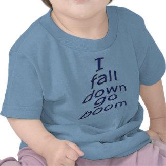 MJ12club*-I fall down go boom-Baby Pix-Googlem Tee Shirt