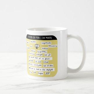 MJ1448, mahoney joe, pisces, zodiac, starsign Classic White Coffee Mug