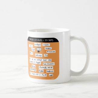 "MJ1454, ""Mahoney Joe"", Virgo, starsign, zodiac Coffee Mug"