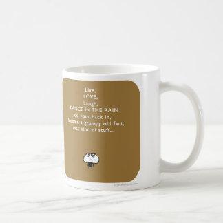 "MJ1532 ""mahoney joe"" dance rain fart Classic White Coffee Mug"