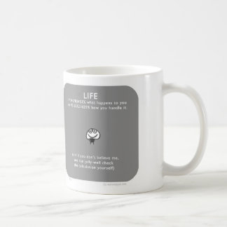 "MJ1533 ""mahoney Joe"" trip mountains pebbles Classic White Coffee Mug"