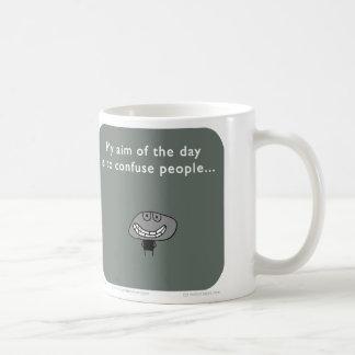 "MJ1539 ""mahoney joe"" aim day confuse people Classic White Coffee Mug"
