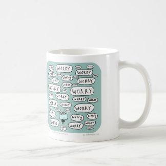 MJ1542 mahoney joe worry day Classic White Coffee Mug