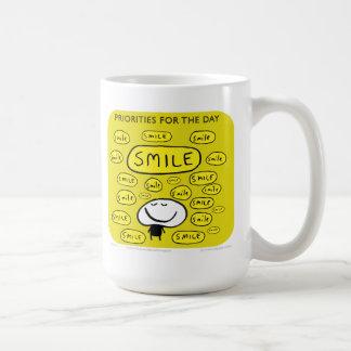 "MJ1543 ""mahoney joe"" smile Classic White Coffee Mug"