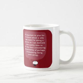 MJ1548 mahoney joe future saving Classic White Coffee Mug