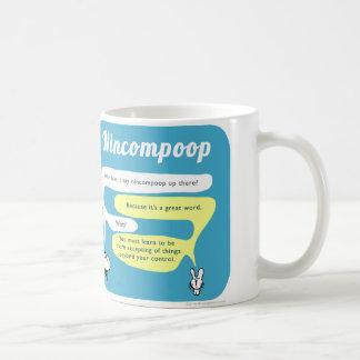 MJ1553 mahoney joe nincompoop Classic White Coffee Mug
