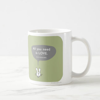MJ1557 all you need is love cheesecake Mugs