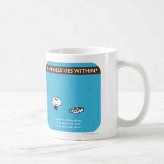 MJ1570 mahoney joe happiness within chocolate Classic White Coffee Mug