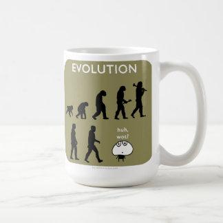 "MJ1571 ""Mahoney Joe"" Evolution Classic White Coffee Mug"