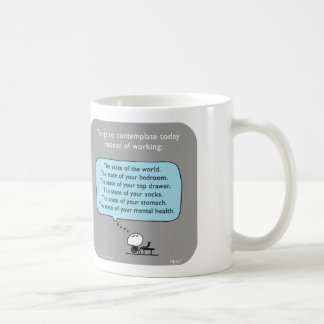 "MJ1577 ""mahoney joe"" Classic White Coffee Mug"