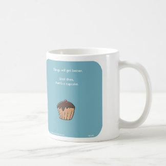 "MJ1590, ""Mahoney Joe"", cupcake, things will get be Classic White Coffee Mug"