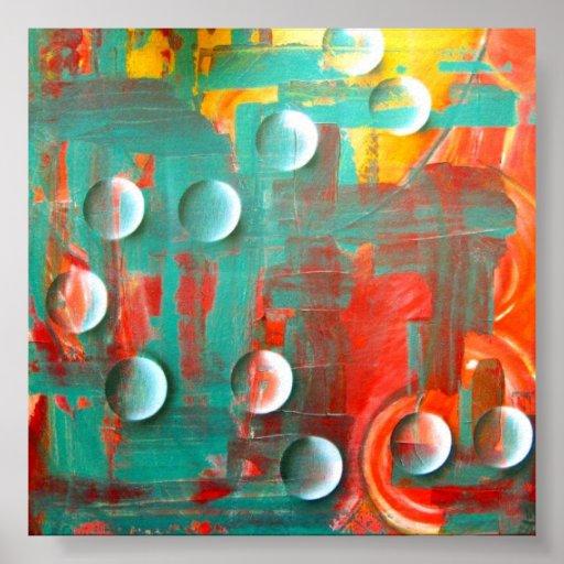 MJ_Arts Bubbles II - pósteres Póster