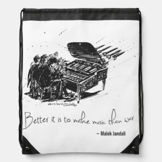 MJ Backpack - Better it is to make music (Black)