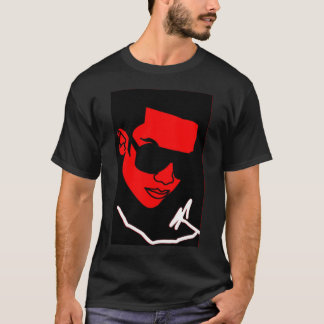 MJ Face Red T-Shirt