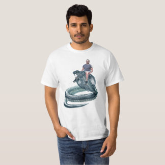 MJ Riding A Snake T-Shirt