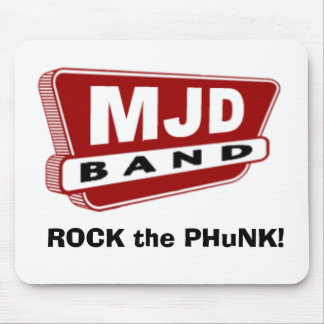 MJD Band Mousepad