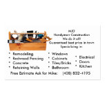 MJD image 2, MJDHandyman ConstructionWe do it a... Double-Sided Standard Business Cards (Pack Of 100)
