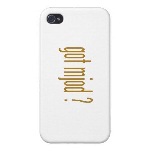 MJOD iPhone 4 CARCASAS