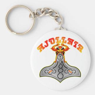 Mjollnir Hammer Of Thor Keychain
