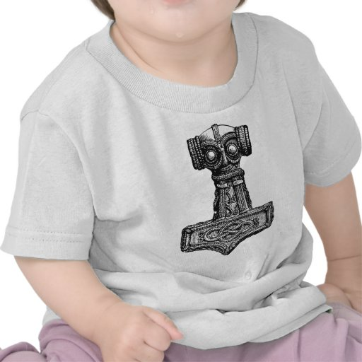 Mjolnir: El martillo del Thor Camiseta