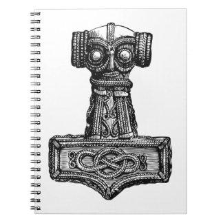 Mjolnir: El martillo del Thor Libreta Espiral